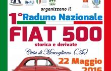 """1° Raduno di Fiat 500 """"Città di Mercogliano"""""""