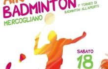 Il 18 luglio arriva  a Mercogliano il primo torneo di Air badminton!
