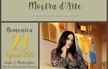 I volti di Dorotea Virtuoso. Mostra d'arte contemporanea al Viale S.Modestino