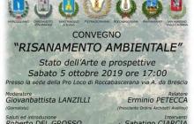Risanamento ambientale - stato dell'arte e prospettive. Il 5 Ottobre alle 17 a Roccabascerana.