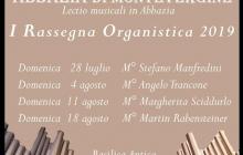 I Rassegna organistica 2019